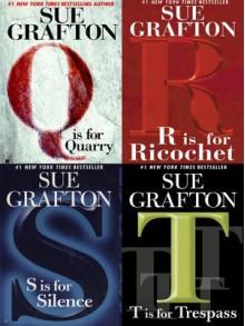 Four Sue Grafton Novels - Sue Grafton