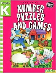 Number Puzzles and Games: Grade Pre-K-K (Flash Skills) - Flash Kids Editors, Flash Kids