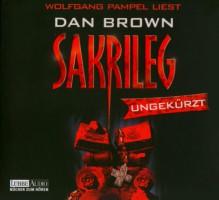 Sakrileg, 14 Audio-CDs - Dan Brown;Wolfgang Pampel