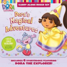 Dora's Magical Adventures: A Carry-Along Boxed Set (Nick JR. Carry-Along Boxed Set) - Various