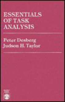 Essentials of Task Analysis - Peter Desberg