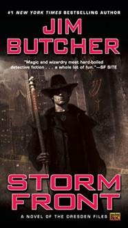 Storm Front (Dresden Files) by Butcher, Jim (2000) Mass Market Paperback - Jim Butcher