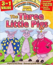 The Three Little Pigs All-in-one Classic Read Along Book / CD - Larry Carney
