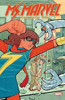 Ms. Marvel (2015-) #2 - G. Willow Wilson, Cliff Chiang, Takeshi Miyazawa