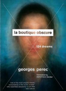 La Boutique Obscure: 124 Dreams - Georges Perec