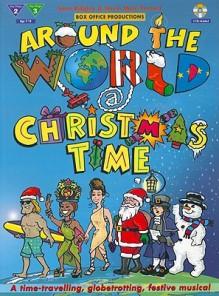 Around the World @ Christmas Time: Book & 2 CDs - Sara Ridgley, Gavin Mole