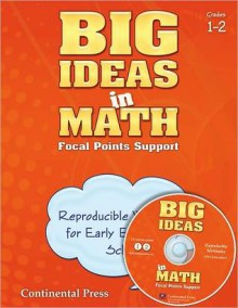 Math Workbook: Big Ideas in Math Reproducible Blackline Master Set Early Elementary - continental press