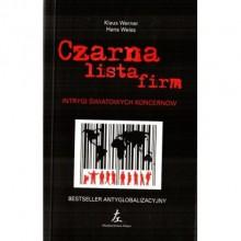 Czarna lista firm - Klaus Werner-Lobo, Hans Weiss