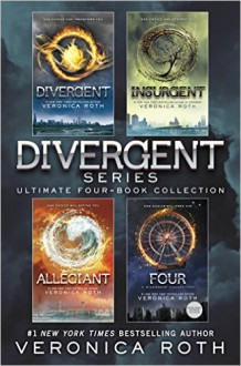 The Divergent Library: Divergent; Insurgent; Allegiant; Four: The Transfer, The Initiate, The Son, and The Traitor (Divergent Series) - Veronica Roth