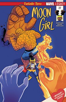 Moon Girl and Devil Dinosaur (2015-) #27 - Natacha Bustos,Brandon Montclare