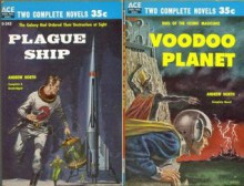 Plague Ship / Voodoo Planet (Ace Double, D-345) - Andre Norton