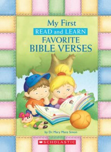 My First Read And Learn Favorite Bible Verses - Mary Manz Simon