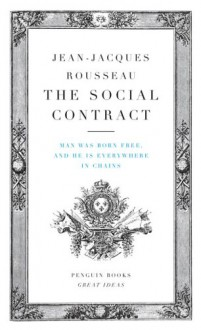 The Social Contract - Jean-Jacques Rousseau,Maurice Cranston