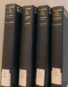 4 Volumes of Oceanography & Marine Biology Annual Review's: Vol. 1, Vol. 2, Vol. 3, Vol. 4 [Editor- H.Barnes] - J.R. Rossiter, E.Listzin, A.Lee, A.H. Stride, NG Jerlov, DW Hood, C.S. Yentsch, P.S. Dixon, EJFWood