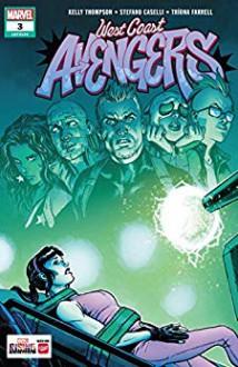 West Coast Avengers (2018-) #3 - Kelly Thompson,Stefano Caselli