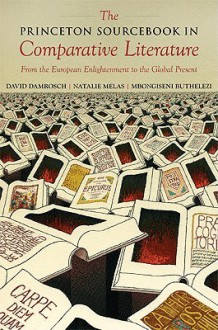 The Princeton Sourcebook in Comparative Literature: From the European Enlightenment to the Global Present (Translation/Transnation) - David Damrosch, Natalie Melas, Mbongiseni Buthelezi