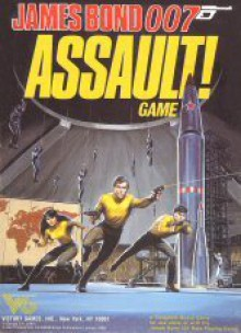 Assault! Game (James Bond 007) - Victory Games