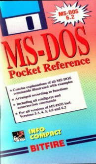 MS-DOS Pocket Reference (Pocket Reference Info Compact) - Winfried Hofacker