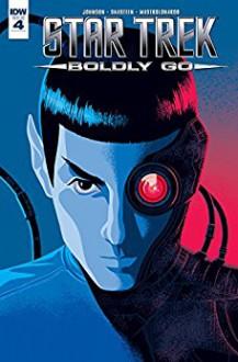 Star Trek: Boldly Go #4 - Mike Johnson,Tony Shasteen,George Caltsoudas
