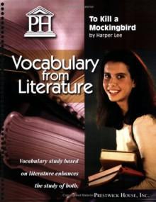 To Kill a Mockingbird - Vocabulary from Literature - Harper Lee Lee