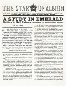 A Study in Emerald - Jouni Koponen,Neil Gaiman