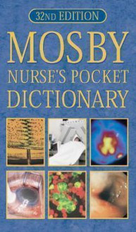 Mosby Nurse's Pocket Dictionary - Christine Brooker