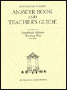 Prayerbook Hebrew Answer Book & Teacher's Guide - Ethelyn Simon
