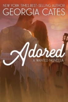 Adored: A Wanted Novella - Georgia Cates