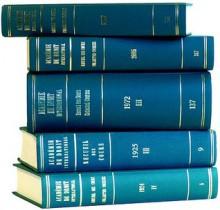 Recueil Des Cours: 1993 IV: Collected Courses of the Hague Academy of International Law - Academie de Droit International de la Haye