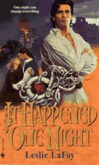 It Happened One Night - Leslie LaFoy