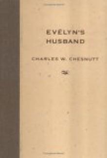 Evelyn's Husband - Charles W. Chesnutt, Matthew Wilson, Marjan van Schaik