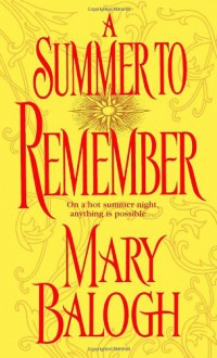 A Summer to Remember - Mary Balogh