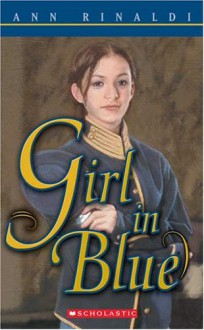 Girl in Blue - Ann Rinaldi