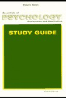 Essentials of Psychology: Exploration and Application--Study Guide - Dennis Coon