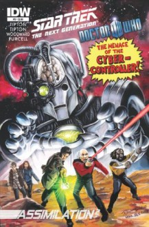 Star Trek TNG/Doctor Who: Assimilation #8 - Scott Tipton, David Tipton, J.K. Woodward, Gordon Purcell