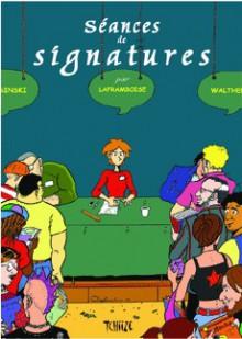 Scéances de signatures - Michèle Laframboise