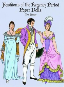 Fashions of the Regency Period Paper Dolls - Tom Tierney