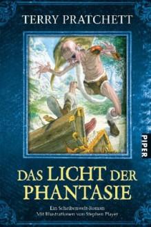 Das Licht der Phantasie (Scheibenwelt #2) - Terry Pratchett, Andreas Brandhorst, Stephen Player