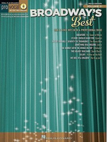 Broadway's Best: Men [With CD (Audio)] - Hal Leonard Publishing Company