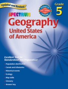 Geography, Grade 5: The United States of America - Spectrum, Spectrum
