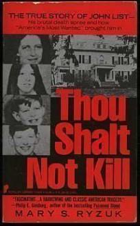 Thou Shalt Not Kill - Mary S. Ryzuk