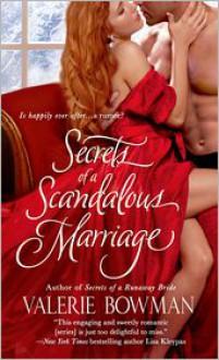 Secrets of a Scandalous Marriage - Valerie Bowman
