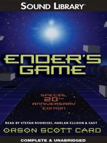 Ender's Game (Ender's Saga, #1) - Harlan Ellison, Stefan Rudnicki, Orson Scott Card