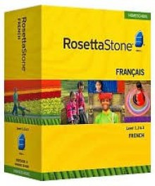 Rosetta Stone Homeschool Version 3 French Level 1, 2 & 3 Set - Rosetta Stone