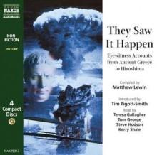 They Saw It Happen - Matthew Lewin, Kerry Shale, Tim Pigott-Smith