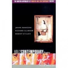The Norton Anthology of Modern and Contemporary Poetry, Volume 2 3th (third) edition Text Only - Jahan Ramazani
