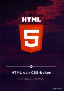 HTML och CSS-boken - Staflin, Rolf