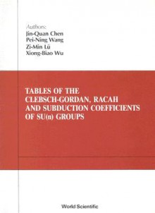 Tables Of The Clebsch Gordan, Racah, And Subduction Coefficients Of Su(N) Groups - Jin-Quan Chen