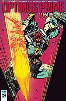 Optimus Prime #24 - Andrew Griffith,John Barber