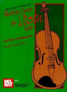Favorite Carols for Violin Solo - John Hollins